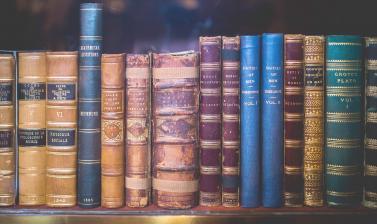 vintage books lightened